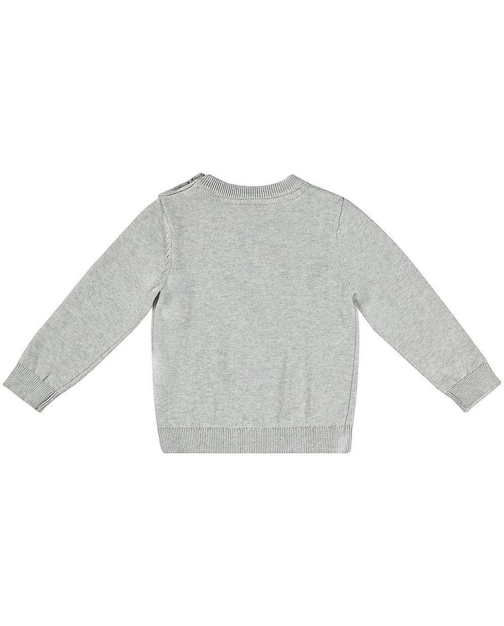 Pullover - Blassgrau -